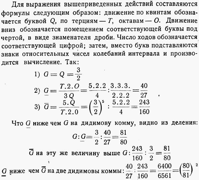 Сонантометрия или алгебра